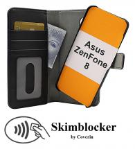 CoverIn Skimblocker Magneettikotelo Asus ZenFone 8 (ZS590KS)