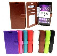 billigamobilskydd.se Crazy Horse Lompakko Nokia 6