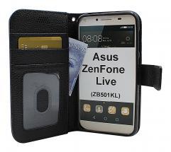 billigamobilskydd.se New Jalusta Lompakkokotelo Asus ZenFone Live (ZB501KL)