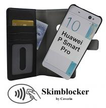 CoverIn Skimblocker Magneettikotelo Huawei P Smart Pro