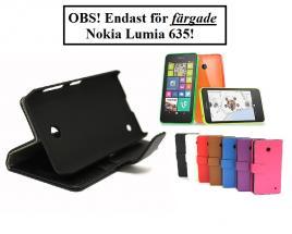 billigamobilskydd.se Jalusta Lompakkokotelo Nokia Lumia 635