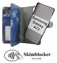 CoverIn Skimblocker XL Magnet Designwallet Samsung Galaxy A72 (A725F/DS)