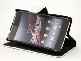 billigamobilskydd.se Jalusta Lompakkokotelo Sony Xperia E1 (D2005)