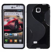 billigamobilskydd.se S-Line TPU-muovikotelo LG Optimus F5 (P875)