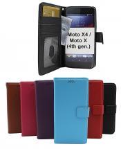 billigamobilskydd.se New Jalusta Lompakkokotelo Motorola Moto X4 / Moto X (4th gen)