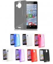 billigamobilskydd.se S-Line TPU-muovikotelo Microsoft Lumia 950 XL