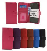 billigamobilskydd.se New Jalusta Lompakkokotelo Samsung Galaxy A7 2018 (A750FN/DS)
