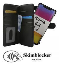 billigamobilskydd.se Skimblocker XL Magnet Wallet Nokia 6.2 / 7.2