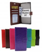 billigamobilskydd.se Crazy Horse Lompakko Xiaomi Redmi 9T