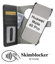 CoverIn Skimblocker Magneettikotelo Huawei Mate 40 Pro