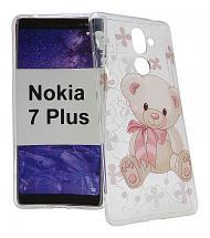billigamobilskydd.se TPU-Designkotelo Nokia 7 Plus