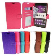 billigamobilskydd.se Crazy Horse Lompakko Nokia 8