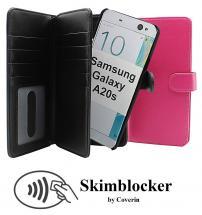 CoverIn Skimblocker XL Magnet Wallet Samsung Galaxy A20s (A207F/DS)