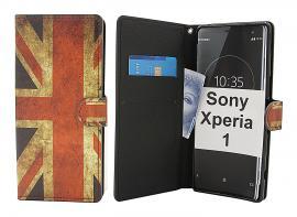 billigamobilskydd.se Kuviolompakko Sony Xperia 1 (J9110)