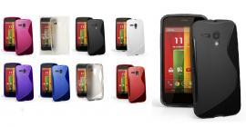 billigamobilskydd.se S-Line TPU-muovikotelo Motorola Moto G (XT1032)