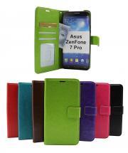 billigamobilskydd.se Crazy Horse Lompakko Asus ZenFone 7 Pro (ZS671KS)