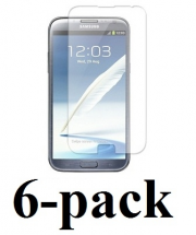billigamobilskydd.se Kuuden kappaleen näytönsuojakalvopakett Samsung Galaxy Note 2