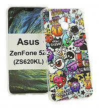 billigamobilskydd.se TPU-Designkotelo Asus ZenFone 5Z (ZS620KL)