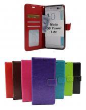 billigamobilskydd.se Crazy Horse Lompakko Motorola Moto G8 Power Lite