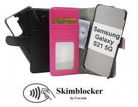 CoverIn Skimblocker Magneettikotelo Samsung Galaxy S21 5G (G991B)