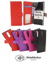 CoverIn Skimblocker Magneettikotelo Sony Xperia 1 (J9110)