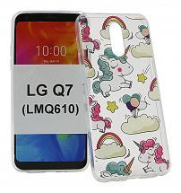 billigamobilskydd.se TPU-Designkotelo LG Q7 / LG Q7 Plus (LMQ610)