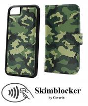 CoverIn Skimblocker Design Magneettilompakko iPhone 6s/7/8/SE 2nd Gen.