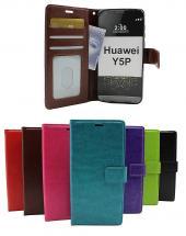 billigamobilskydd.se Crazy Horse Lompakko Huawei Y5p