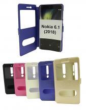 billigamobilskydd.se Flipcase Nokia 6 (2018)