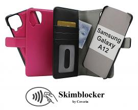 CoverIn Skimblocker Magneettikotelo Samsung Galaxy A12