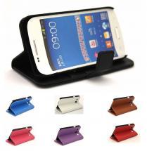 billigamobilskydd.se Jalusta Lompakkokotelo Samsung Galaxy Core Plus (G3500)