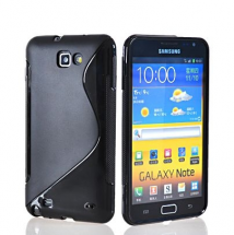 billigamobilskydd.se S-Line TPU-muovikotelo Samsung Galaxy Note (i9220)