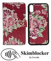 billigamobilskydd.se Skimblocker Design Magneettilompakko iPhone X/Xs
