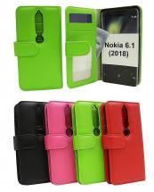 billigamobilskydd.se Lompakkokotelot Nokia 6 (2018)