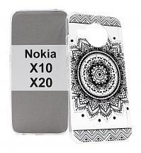 billigamobilskydd.se TPU-Designkotelo Nokia X10 / Nokia X20