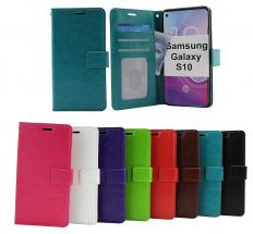 billigamobilskydd.se Crazy Horse Lompakko Samsung Galaxy S10 (G973F)