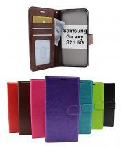 billigamobilskydd.se Crazy Horse Lompakko Samsung Galaxy S21 5G (G991B)