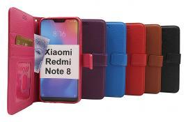 billigamobilskydd.se New Jalusta Lompakkokotelo Xiaomi Redmi Note 8