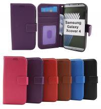 billigamobilskydd.se New Jalusta Lompakkokotelo Samsung Galaxy Xcover 4 (G390F)