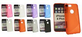 billigamobilskydd.se S-Line TPU-muovikotelo iPhone 8 Plus