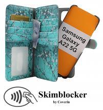 CoverIn Skimblocker XL Magnet Designwallet Samsung Galaxy A22 5G (SM-A226B)