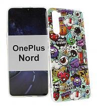billigamobilskydd.se TPU-Designkotelo OnePlus Nord