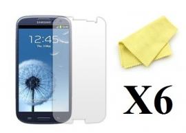 billigamobilskydd.se Kuuden kappaleen näytönsuojakalvopakett Samsung Galaxy S3