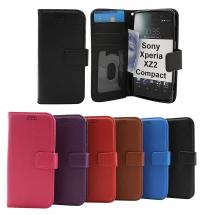 billigamobilskydd.se New Jalusta Lompakkokotelo Sony Xperia XZ2 Compact (H8324)