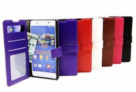 billigamobilskydd.se Crazy Horse Lompakko Sony Xperia Z3+ (E6553)