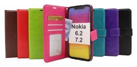 billigamobilskydd.se Crazy Horse Lompakko Nokia 6.2 / 7.2