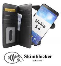 CoverIn Skimblocker XL Magnet Wallet Nokia 5.4