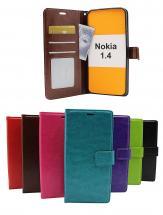 billigamobilskydd.se Crazy Horse Lompakko Nokia 1.4