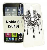 billigamobilskydd.se TPU-Designkotelo Nokia 6 (2018)