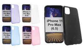 billigamobilskydd.se S-Line TPU-muovikotelo iPhone 11 Pro Max (6.5)